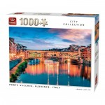 Puzzle  King-Puzzle-55849 Ponte Vecchio Florence Italy