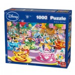 Puzzle  King-Puzzle-55887 Disney Mad Tea Cup