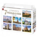 King-Puzzle-55929 7 Puzzles - 7 Wonders of Europe