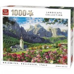 Puzzle  King-Puzzle-55940 Dolomites, Kollfusch, Italy