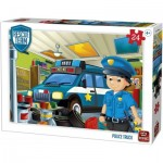 Puzzle   Rescue Team - Police Truck