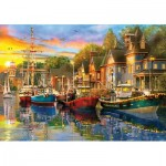 Puzzle  KS-Games-23006 Harbour Lights