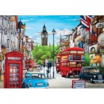 Puzzle   London in Red