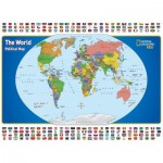 Puzzle   XXL Teile - National Geographic - The World Kids Map