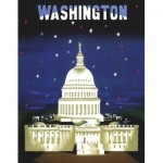 Puzzle  New-York-Puzzle-AA1702 The Capitol - American Airlines Poster Mini