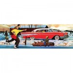 Puzzle  New-York-Puzzle-GM2176 XXL Teilel - Skating Pond