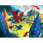 Puzzle  New-York-Puzzle-HP1361 Harry Potter - Quidditch