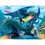 Puzzle  New-York-Puzzle-HP1371 XXL Teile - Hungarian Horntail