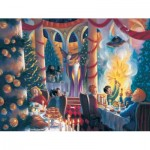 Puzzle  New-York-Puzzle-HP1609 XXL Teile - Harry Potter - Christmas at Hogwarts