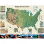 Puzzle  New-York-Puzzle-NG1707 American National Parks