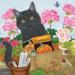 Puzzle   Black Cat 'Pumpkin'