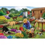 Puzzle  Otter-House-Puzzle-73564 Garden Dogs