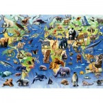 Puzzle  Otter-House-Puzzle-73570 Endangered Animals