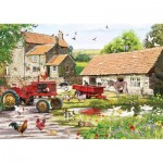 Puzzle  Otter-House-Puzzle-75369 On the Farm