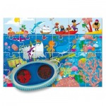 Ludattica-58228 XXL Teile - Secret Puzzle: The Sea