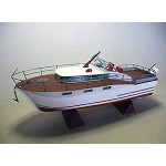 Puzzle   Kartonmodelbau: Chris Craft Futura