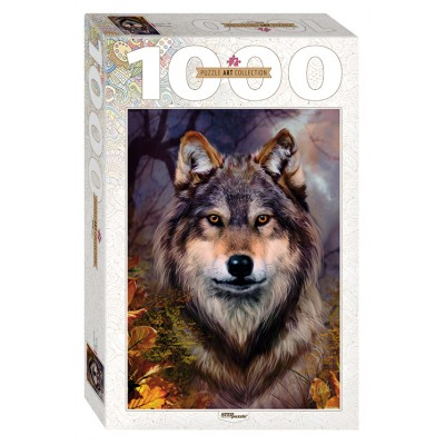 Puzzle Step-Puzzle-79109 Wolf