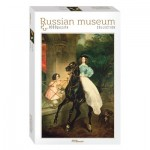 Puzzle  Step-Puzzle-79212 Russian Museum - Brullov. Horsewoman