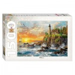Puzzle  Step-Puzzle-83058 Dominic Davison: Shore Cliff