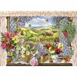 Puzzle  The-House-of-Puzzles-2193 XXL Teile - Harvest View