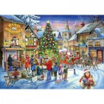 Puzzle  The-House-of-Puzzles-2254 Christmas Collectors Edition No.6 - Christmas Shopping
