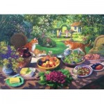 Puzzle  The-House-of-Puzzles-2414 XXL Teile - Garden Party