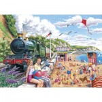 Puzzle  The-House-of-Puzzles-2469 XXL Teile - Seaside Special