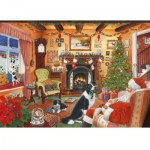 Puzzle  The-House-of-Puzzles-2490 Christmas Collectors Edition No.7 - Me Too Santa