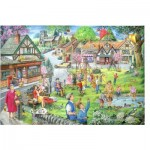 Puzzle  The-House-of-Puzzles-2599 Spring Green