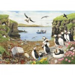 Puzzle  The-House-of-Puzzles-2766 XXL Teile - Puffin Parade