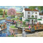 Puzzle  The-House-of-Puzzles-3176 Find the Differences No.6 - By The Canal
