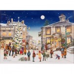 Puzzle  The-House-of-Puzzles-3442 XXL Teile - Starry Night