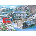 Puzzle  The-House-of-Puzzles-3879 XXL Teile - A Welcome Visit