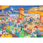Puzzle  The-House-of-Puzzles-4111 XXL Teile - Fairground Rides