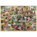 Puzzle  The-House-of-Puzzles-4142 XXL Teile - Playtime Pursuits