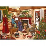 Puzzle  The-House-of-Puzzles-4166 Christmas Collectors Edition No.12 - Christmas Past