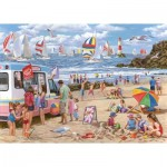 Puzzle  The-House-of-Puzzles-4364 XXL Teile - Regatta Day