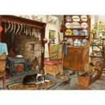 Puzzle  The-House-of-Puzzles-4517 XXL Teile - Fisherman's Cottage
