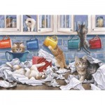 Puzzle  The-House-of-Puzzles-4784 XXL Teile - Darley Collection - Kitty Litter
