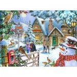 Puzzle  The-House-of-Puzzles-5040 Snowman's View