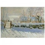 Holzpuzzle - Claude Monet - The Magpie