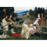Holzpuzzle - John William Waterhouse - Saint Cecilia