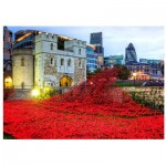 Holzpuzzle - Tower of London Remembrance