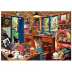 Wentworth-791902 Holzpuzzle - Man Cave