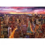 Wentworth-831705 Holzpuzzle - Manhattan Skyline