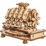 Wooden-City-WR316-8183 3D Holzpuzzle - V8 Engine